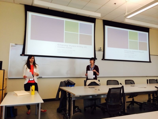 Presenting at the Great Lakes Conference on Teaching and Learning.