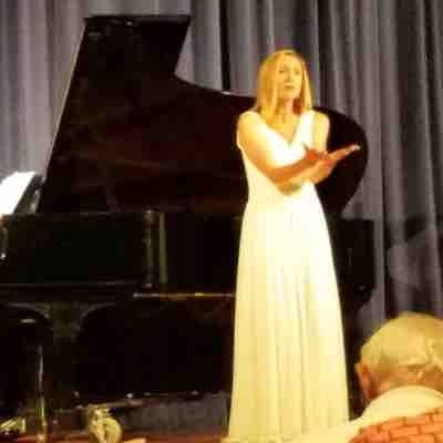 From a concert I sang on at Hood College in July 2017 for their summer concert series.