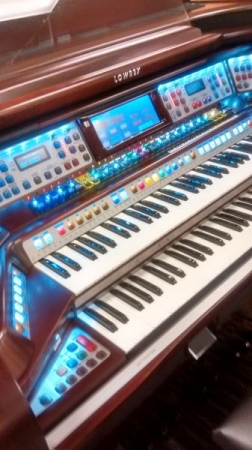 Learn to play the mighty organ.