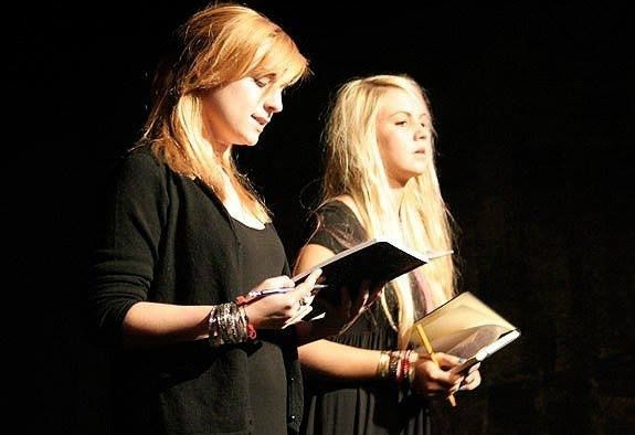 Reciting Poetry, 2010.