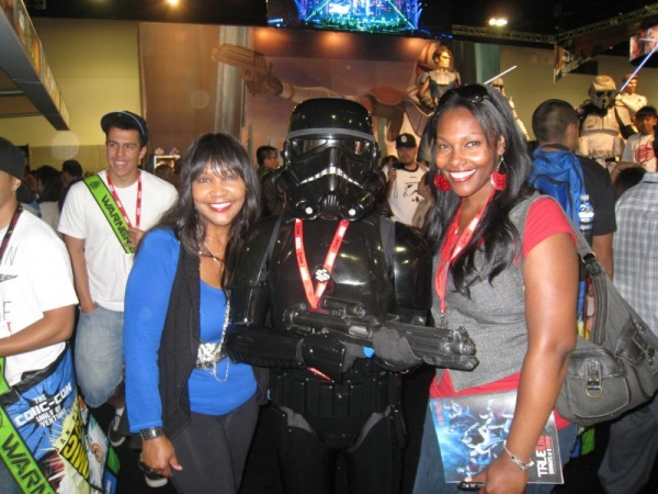Me and Lani at Comic Con in San Diego California