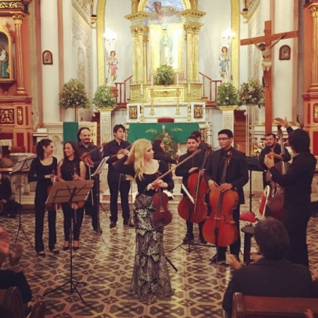 Performing Vivaldi's Four Seasons in Coatepec, Mexico