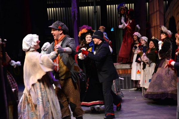 "Performance of ""A Christmas Carol"" with Theatre in the Park."