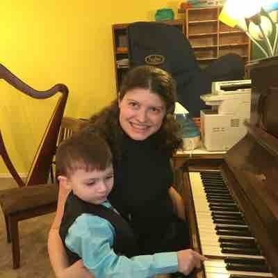 Tavi's first piano recital
