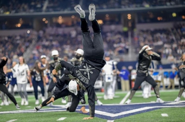 Performing at the Dallas Cowboys Opening Game Half-time Show