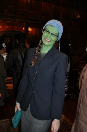 "Elphaba from the smash hit ""Wicked""."