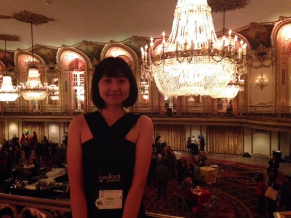 Conference me @ Chicago, 2014. It was cold!