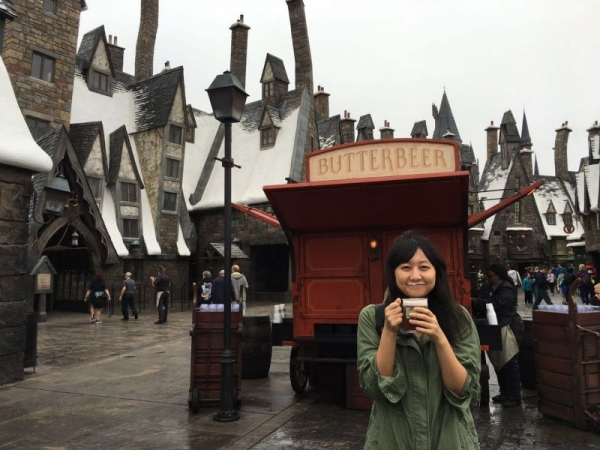 Vacation me @ Orlando, 2015. I miss the butterbeer there.