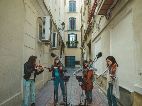 ATLYS performing in Malaga, Spain