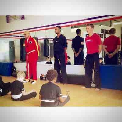 Teaching kids self defense and self discipline