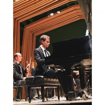 Performance of Ravel's Concerto in G Major at the Idyllwild Arts Academy, California in 2016.