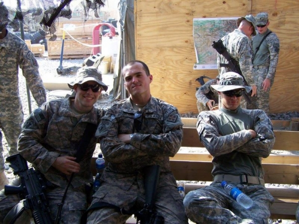 Military Service in Afghanistan. I'm on the far left!