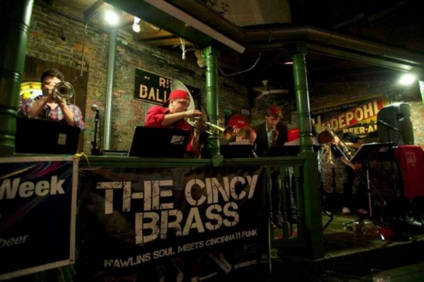 Playing with Cincy Brass