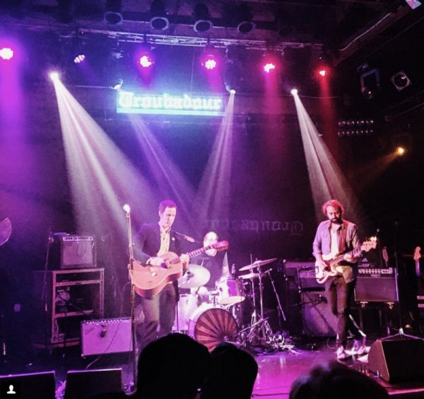 Playing with Miles Tackett at the Troubadour