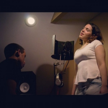 Singing during a studio/video shoot