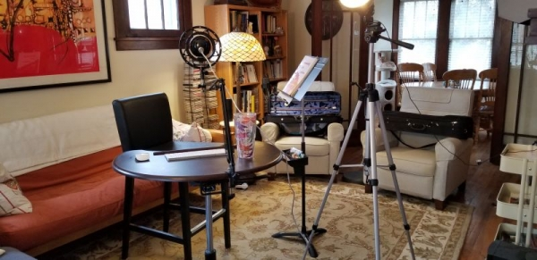 My online studio set up.