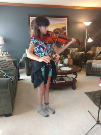 My very first TL violin student.  Started with me in October 2015 and is still with me in January 2018.