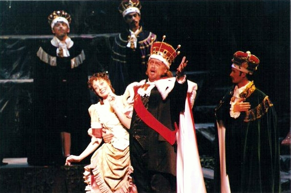 From a production of Gilbert and Sullivan's Iolanthe with Opera Columbus