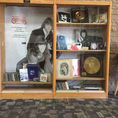 Carpenters display at the Downey City Library