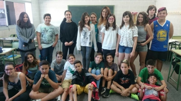 The most energetic and crazy English class. I love them and miss them.