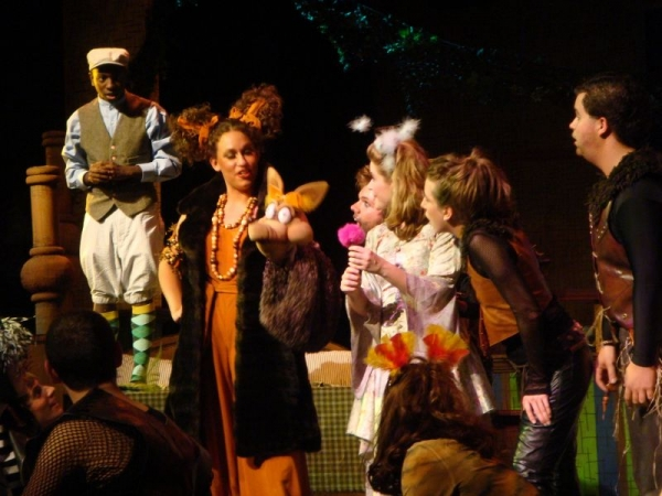 "As The Sour Kangaroo in ""Seussical the Musical"""