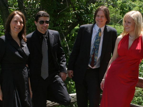 the Katrina Degel Jazz Quartet, circa 2008