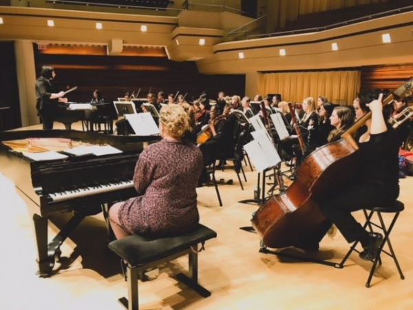 Performance with an All-Female Orchestra