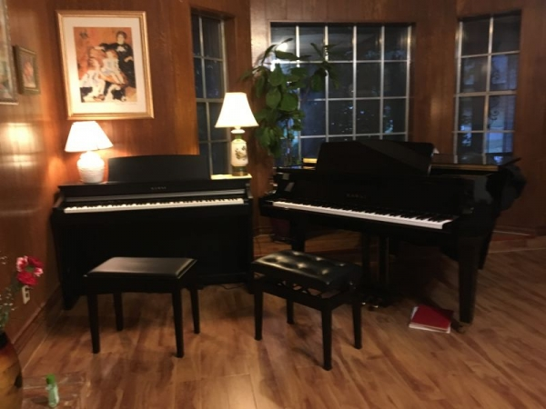 You are welcome to visit my piano studio!