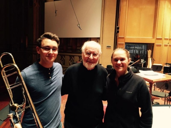 Playing with John Williams at the San Diego Symphony!