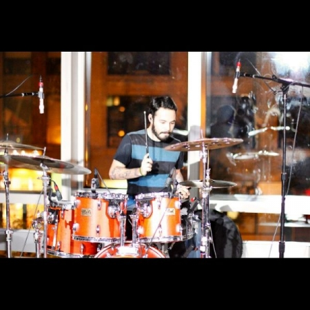 Playing a concert at Berklee College of Music
