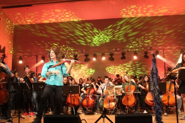 Central MN Orchestra invited six schools to the Mark Wood EYS on January 14, 2018