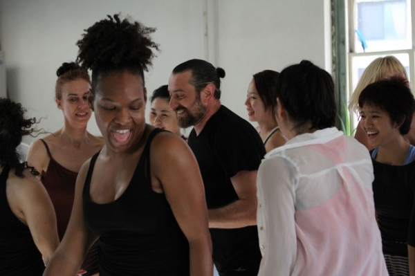 Class at Battery Dance Company (NYC)