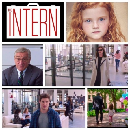 "Success Story: Emma appeared in ""The Intern"" with Anne Hathaway and Robert DeNiro."