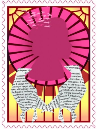 Stamp inspired by Maya Angelou