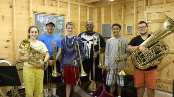Coaching the low brass players