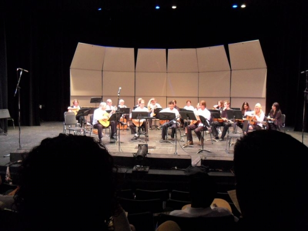 Diablo Valley Guitar Ensemble Performance