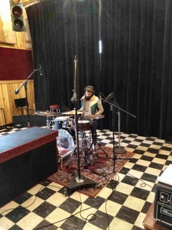 Recording in Boston