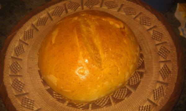 Freshly Baked French Bread Loaf