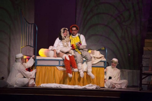 Papagena, from The Magic Flute, Mozart, UMKC Conservatory Opera Theatre 2015