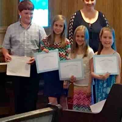 Perfect attendance and theory awards