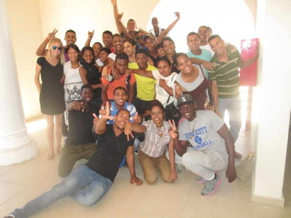 My students in the Dominican Republic were amazing. Many of them now work as teachers and translators.