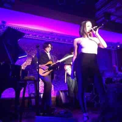 Playing at 54 Below with Olivia Vali