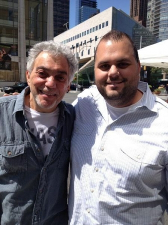 I met Dr. Steve Gadd, one of my drumming heroes!