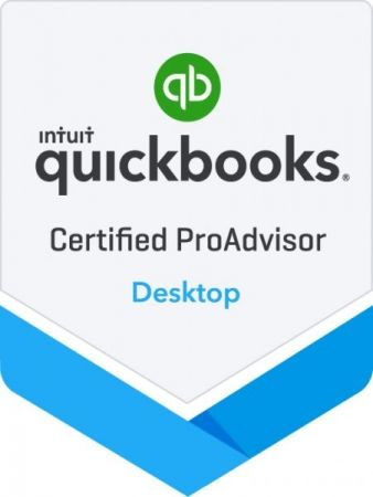 Certifiication in Desktop and QBO