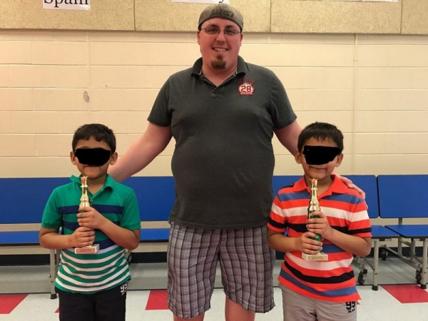 Twin brothers I work with privately. The took 1st and 3rd place at 6 years old!