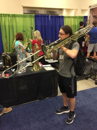 Look at that contrabrass! Thanks, Miraphone!