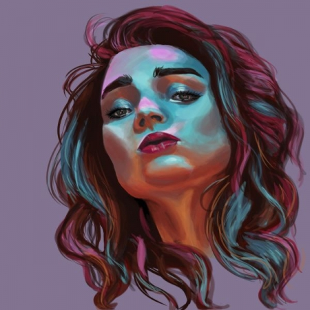 A digital painting I finished recently on photoshop.