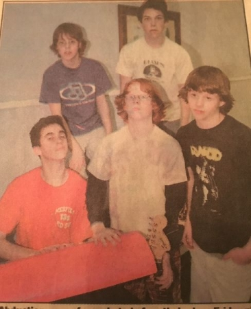 The original band, circa 2002