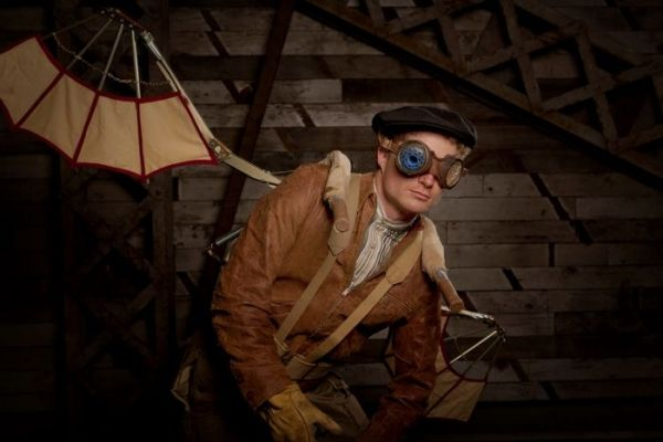 """Steampunk"" This was a fun multi light setup"