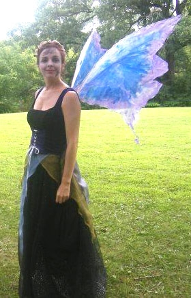As Bella Donna, Queen of the Faeries at the Fairy Festival in South Elgin, IL 2008